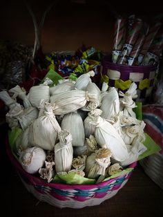 Tamalitos (dulce tipico de tamarindo)