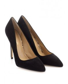 Whistles French 75 suede stiletto heels