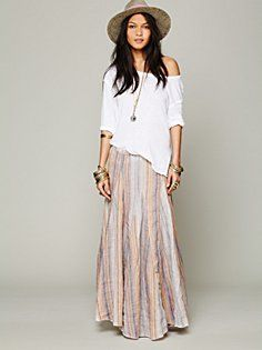 Bubble Gum Stripe Maxi