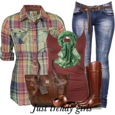 Fashion Plaid Shirts for woman http://www.justtrendygirls.com/fashion-plaid-shirts-for-woman/