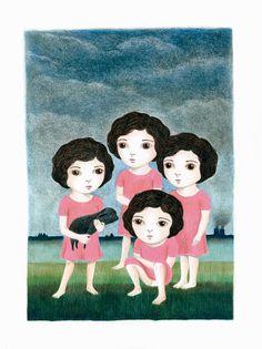 nathalie choux: Portrait de groupe