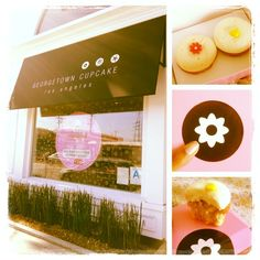 Georgetown Cupcake has made it to Los Angeles! Yummmmm #themixxchic