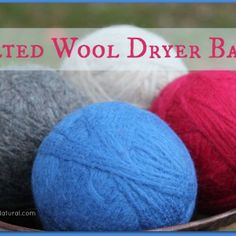 How to Make Wool Dryer Balls – $ave Money and Control Static