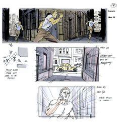 ArtStation - Captain America Joe Johnston Prod Design Rick Heinrichs, Rodolfo Damaggio