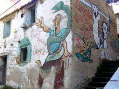 Orgosolo, Sardinia, #murals, #street art