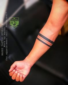 Tattoos Discover Maddy tattoo studio pune Work done by artist. Mens Tiger Tattoo, Tribal Band Tattoo, Tribal Forearm Tattoos, Tattoo Band, Foot Tattoos, Band Tattoo Designs, Armband Tattoo Design, Polynesian Tattoo Designs, Band Tattoos For Men