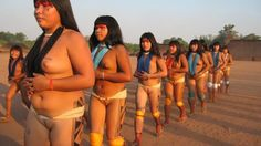 Yawalapiti tribe women nude necessary