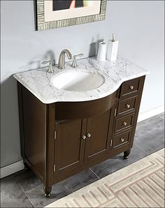 Pics Of Bathroom Vanities With Sinks And Faucets