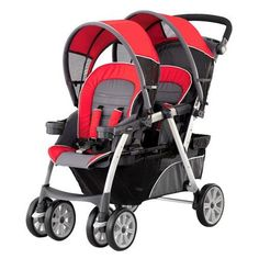 Chicco Together Double Stroller - Fuego