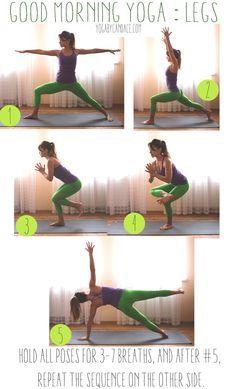 Pin it now, practice later! Wearing: Kira Grace pants, Athleta top. Using: black mat pro.