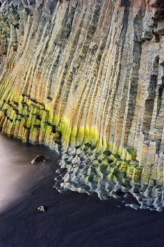 Formaciones de lava en #Islandia