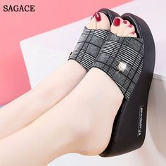 Department Name: AdultItem Type: SandalsUpper Material: PUSandal Type: BasicOccasion: CasualClosure Type: Slip-OnOutsole Material: PUInsole Material: PUPattern Type: SolidStyle: FashionHeel Height: Med (3cm-5cm)Heel Type: WedgesWith Platforms: NoLining Material: PUBrand Name: SAGACEKEY 1: women's sandals shoes