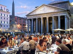 """Rome has """"endless exploration opportunities."""" """"It is not a one-time destination so you can return again and again and always see something n..."""