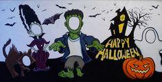 Halloween carnival funny face cutouts - Google Search