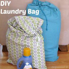 DIY Laundry Bag - Organized 31