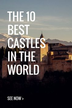Best 10 castles of the world