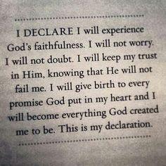 I declare!!!!