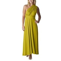 $34.99  Mossimo® Women's Multi Style Convertible Maxi Dress - Bookoo Leaf