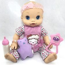 2006 Baby Alive Wet N' Wiggle Anatomically Correct Doll Works Lamb Outfit Cutie Baby Bunk Beds, Barbie Doll Set, Baby Girl Dolls, Baby Alive, Lamb, It Works, Acacia, Alice, Outfits