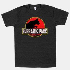 Purrassic Park | T-Shirts, Tank Tops, Sweatshirts and Hoodies | HUMAN