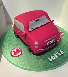 Fiat 500 cake