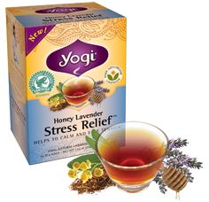 {Relax with a Cup of Honey Lavender Stress Relief!} Traditionally, herbs and botanicals were used to both stimulate activity or to calm and restore your energy.  http://www.yogiproducts.com/well-being/comments/relax-with-a-cup-of-honey-lavender-stress-relief/