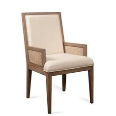 Mirabelle Cane Upholstered Arm Chair I Riverside Furniture