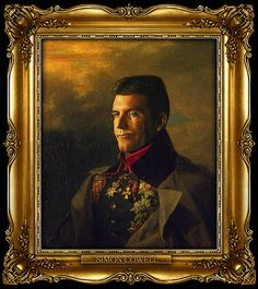 Simon Cowell as Russian General by Steve Payne (2011)