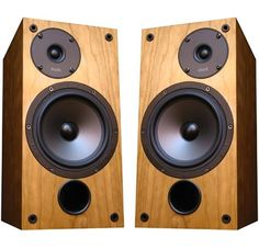ProAc Studio 100 monitors. Defined top end with a well-bodied sound at the low frequency range as well.