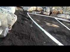 DIY PVC irrigation system