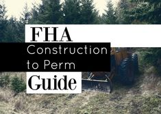 Building Your #Home with an FHA #Construction #Loan