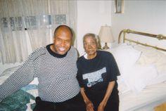 Clarence and my grandma
