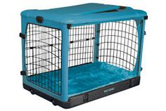 Pet Gear Ocean Blue Other Door Steel Dog Crate