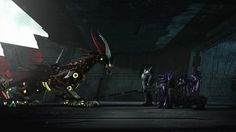 Transformers Prime Beast Hunters S03 E06 Chain of Command Decepticons and the Predacon.