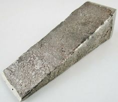 Custom Made Non-Magnetic Metal Small Spilling Wedge 1 Lb. 6 oz. 4-1/2'' x 1-3/8 #Handmade