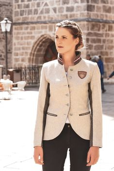 Tweed, Blazer, Models, Women, Fashion, Equestrian, Mandarin Collar, Get Tan, Jackets