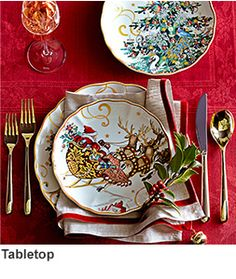 Twas The Night Before Christmas Dinnerware Collection   Williams ...