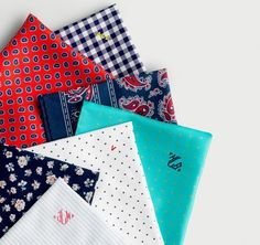 You can never have too many pocket squares.
