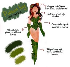 poison ivy cosplay   Tumblr