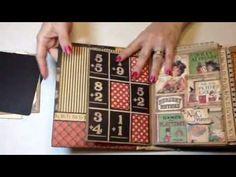 ▶ Graphic 45, ABC Primer Build a Page Mini Album - YouTube