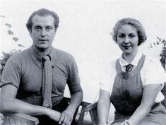Rafael Alberti (El Puerto de Santa María, Cádiz, 16 de diciembre de 1902 - ibídem, 28 de octubre de 1999) y Mª Teresa León