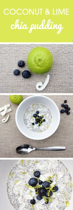 Coconut and Lime Chia Pudding