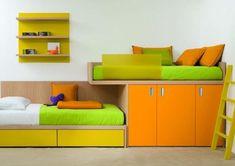 Habitaciones para nios a todo color