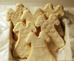 communion dress cookies