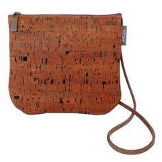 Sidekick Crossbody Bag in Cork Dash Brown | Each product we offer is made in our San Francisco studio. Ships in 1-2 business days. | spicerbags.com
