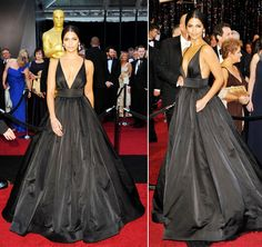 Oscars 2011 Red Carpet Camila Alves Wears Kaufman Franco- I effin LOVE this dress want to get married in it!