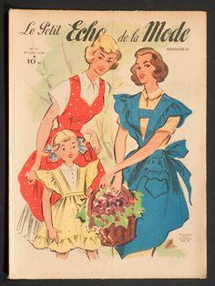 'ECHO DE LA MODE' FRENCH VINTAGE NEWSPAPER 31 JULY 1949 | eBay