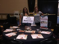 #OurTownAmerica at a super secret convention in Las Vegas the past few days!  It was great meeting everyone. :-)