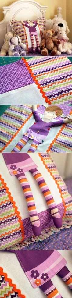 Подушка-игрушка для девочки