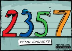 Prime Suspects #puntastic #mathhumor